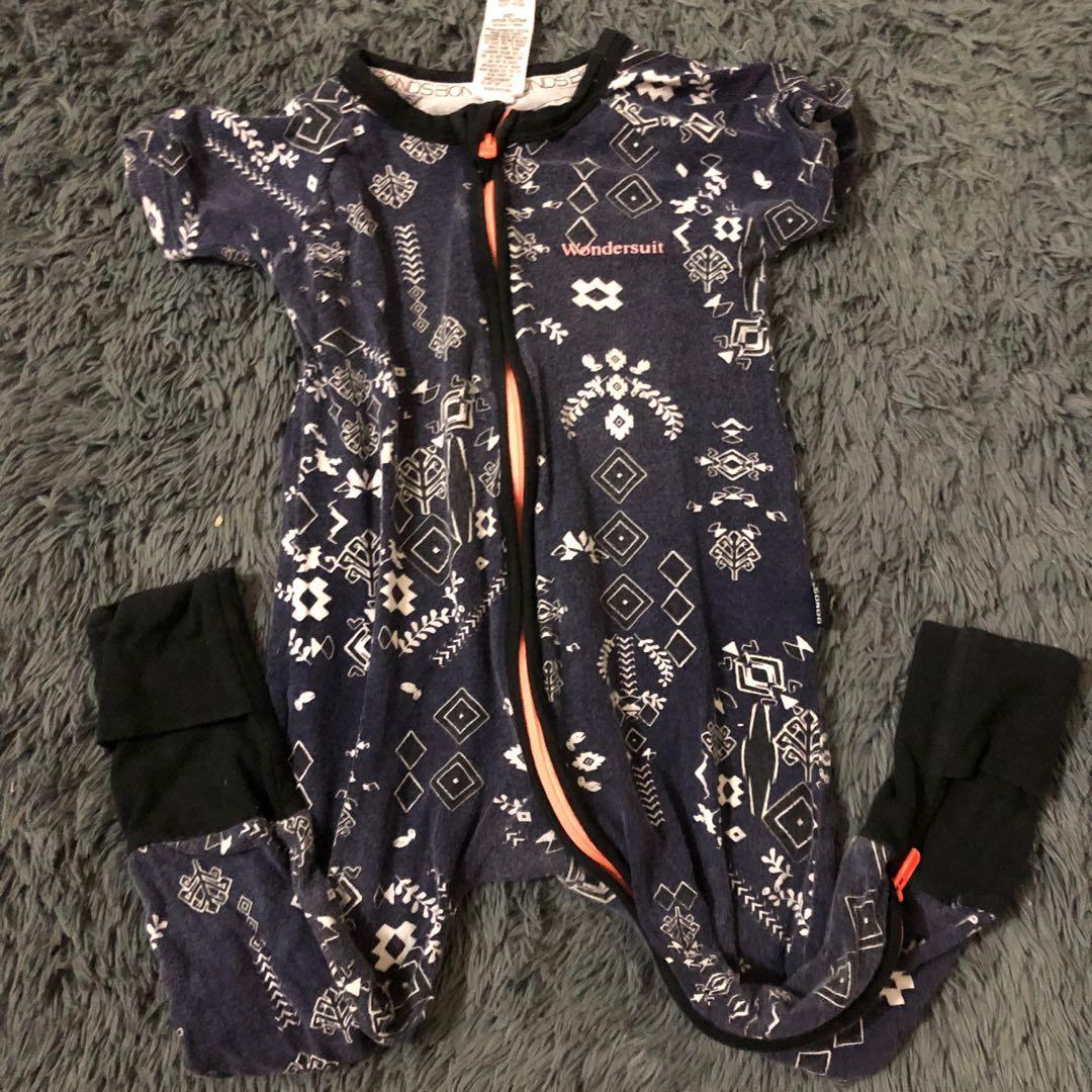 Sleepsuit anak bonds jumpsuit baby piyama