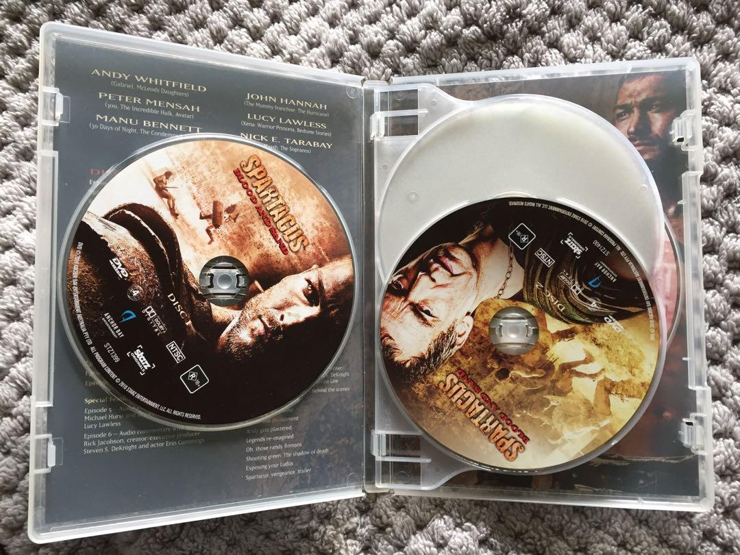 Spartacus - Season 1 - Blood and Sand Uncut Special Cardboard Sleeve Cover DVD