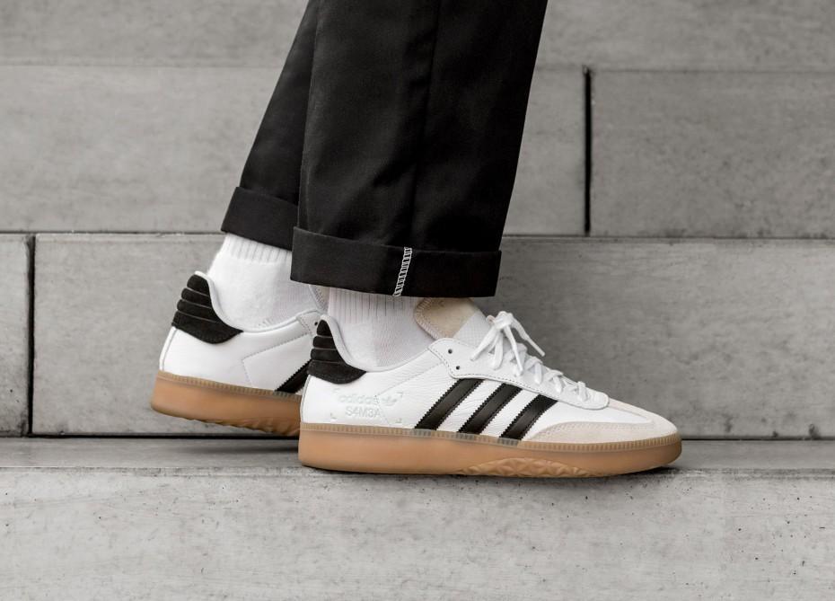 STEAL!!) Adidas Samba RM White Gum, Men
