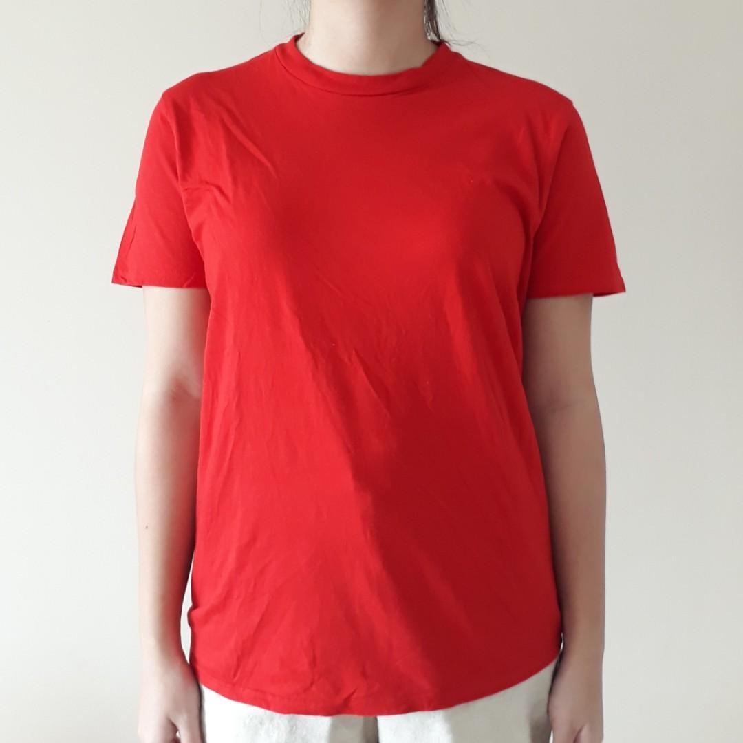 T shirt kaos merah