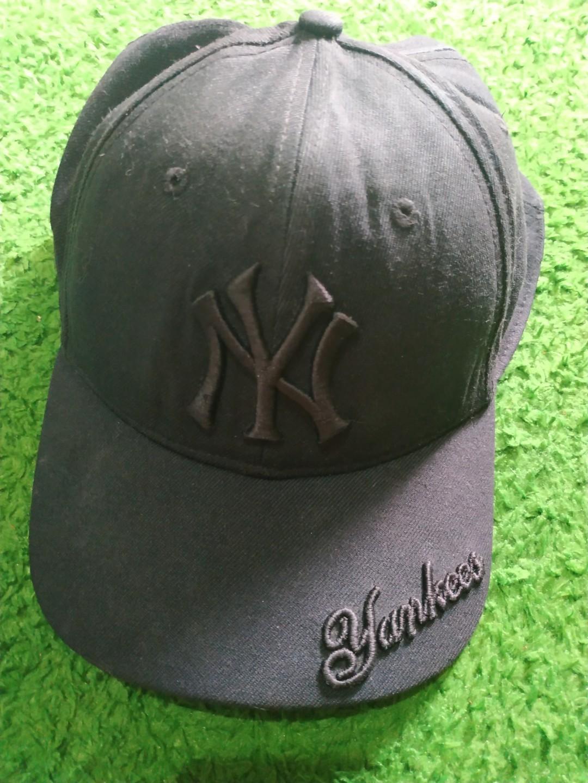 Topi New Era Fits NY new york yankees black