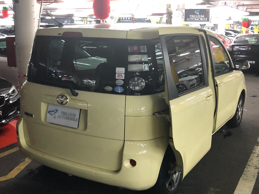 Toyota Sienta 1.5A for Rent!