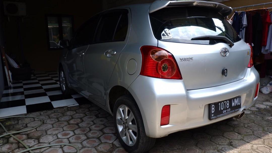 Toyota yaris manual tahun 2012 orisinil