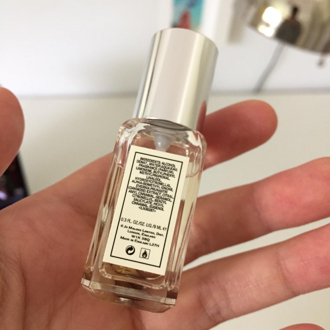 Travel size Jo Malone Lime Basil & Mandarin perfume
