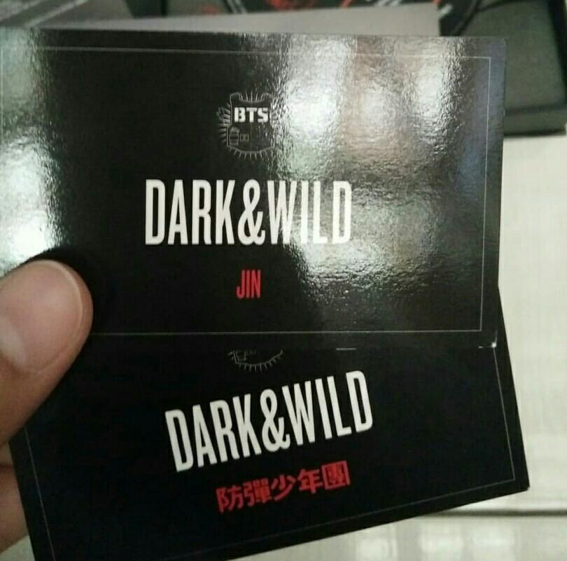[UNSEALED] BTS DARK & WILD album
