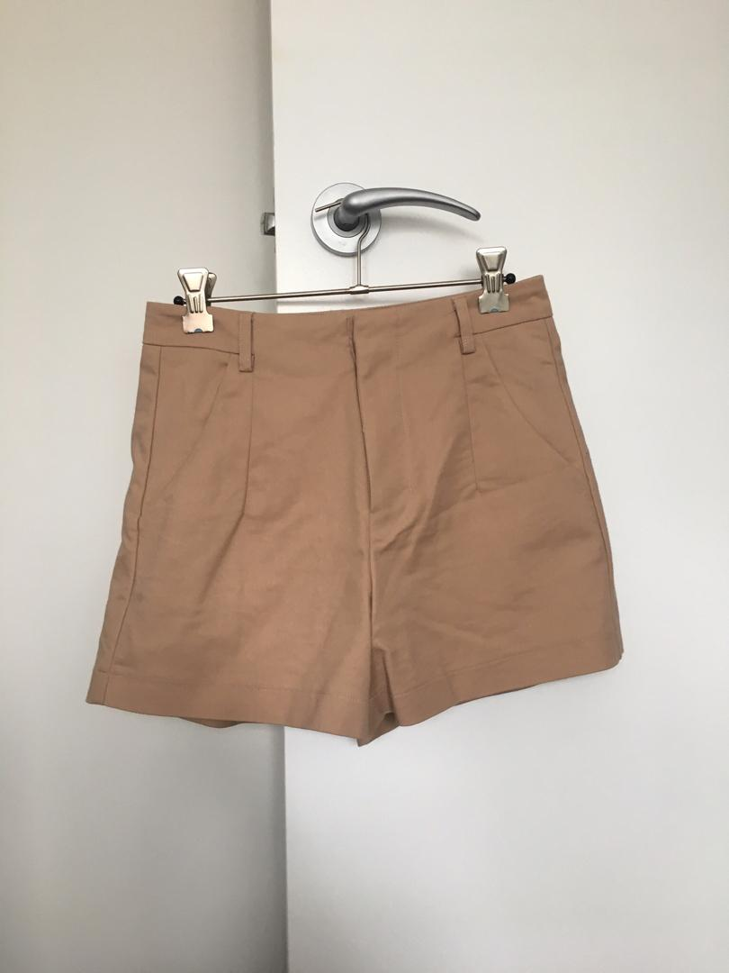 Valleygirl Beige/Tan Shorts