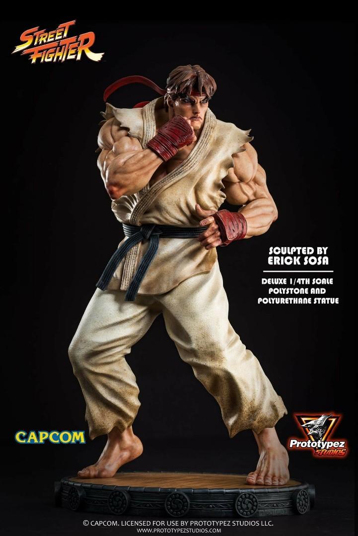 WTS PrototypeZ Studios 1/4 Scale Street Fighter Classic Ryu
