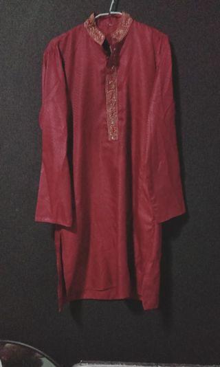 🚚 Red Baju Kurung / Kurta