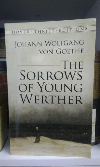 THE SORROWS OF YOUNG WERTHER by GOETHE  #JuneToGo