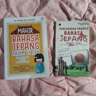 [1 Paket] Buku Bahasa Jepang & Buku percakapan Bahasa Jepang