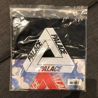 Palace Tri-ternity Tee - Black/White - Medium