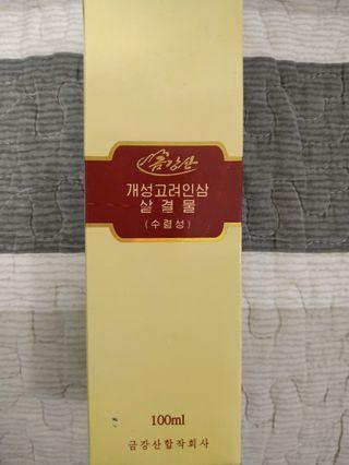 #newbieMay19 北韓朝鮮春香牌人蔘精華化妝水(正品)