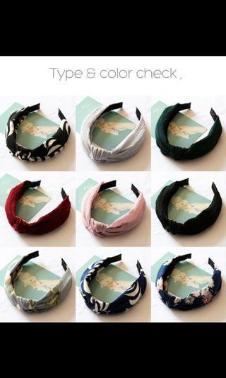 🚚 Korean-style Headbands (Pre-order)