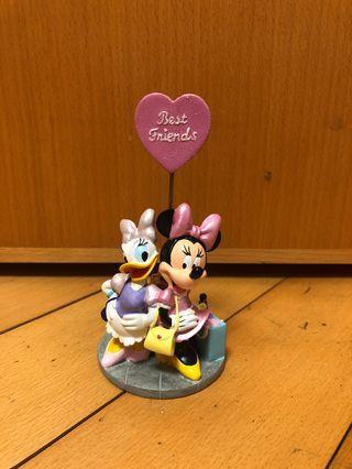 Minnie and Daisy (Disney decoration) Disney 擺設