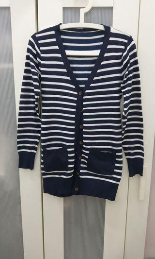 Knit Stripe Cardigan
