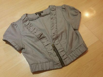 Cropped Outer Jacket