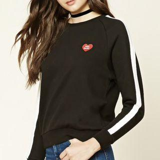 "Forever 21 ""my names not baby"" sweater"