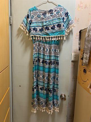 泰國 長身裙