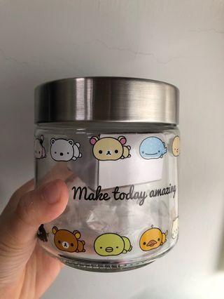 🚚 拉拉熊玻璃罐(全新)