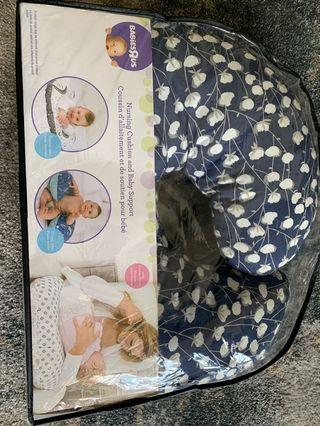 Nursing cushion and baby support from babiesRus