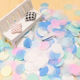 圓形彩色紙碎 🎈用於透明氣球內