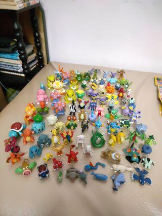 Pokémon Miniature Toys + Masterball