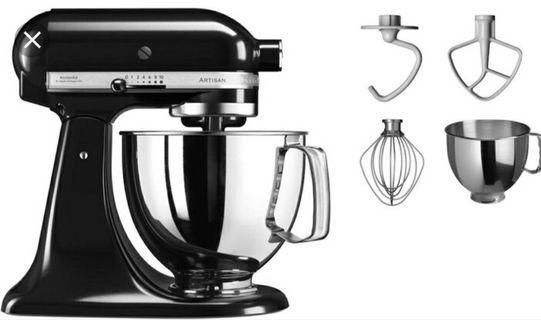 🚚 KitchenAid KSM 125 ONXY BLACK 4.8L