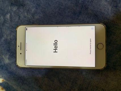 iPhone 7+ 128gb 玫瑰金