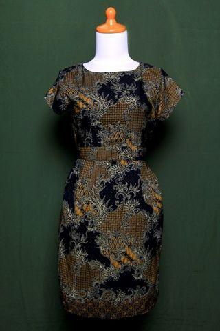 Dress Batik Hitam