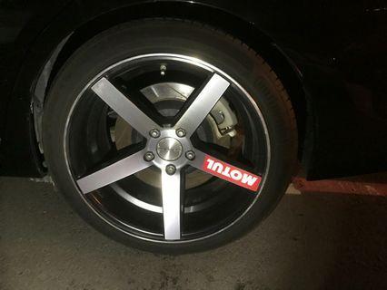 馬牌輪胎 245/40 R18 兩條 中古胎 二手胎