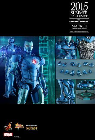 先閱文,後發問 Hottoys IRONMAN MARK 3 Stealth Mode Version 2015 summer exclusive