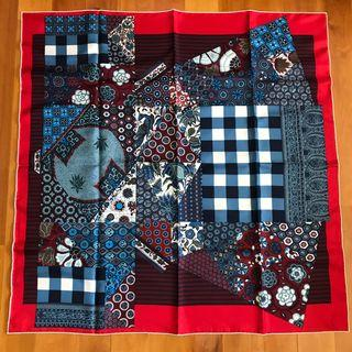 Hermes Silk Scarf 90x90 👘 kimono