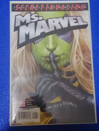 Ms Marvel #25 secret invasion