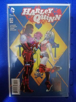 New 52 Harley Quinn #28 (first appearance of toolpool