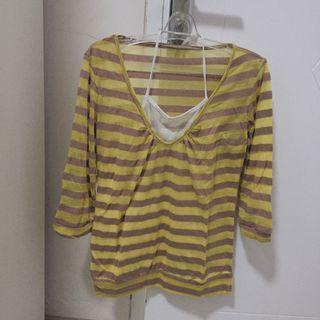 Yellow shirt kaos kuning