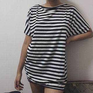 shirt stripe kaos bergaris garis garis