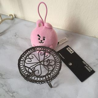 (WITH POS) BT21 COOKY MINI PLUSH