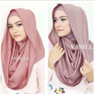 (New) Bella Instan Vanilla Hijab - warna bloom