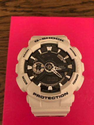 G shock protection 90%新,少帶