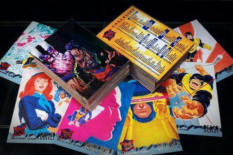 '95 Fleer Ultra X-MEN Trading Cards (1995, Fleer) [150 Complete Base Card Set + 3 Chase Inserts] Marvel