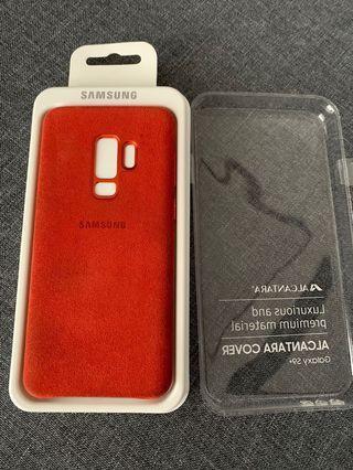 Samsung S9 Plus Alcantara Case (RED)