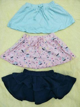 Mothercare - Baby Girl Skirts (Cotton) 6-9 months