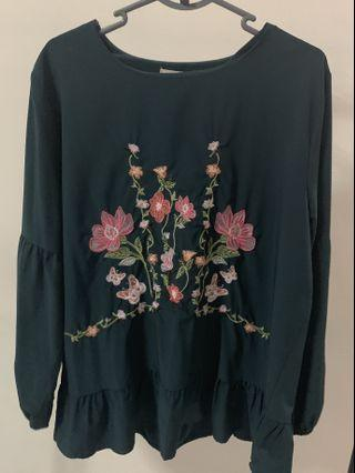 Pre-loved Green Blouse