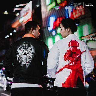 Official Gojek Star Wars Reversible Jacket