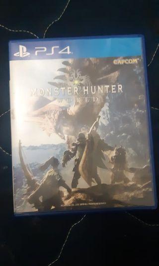 Kaset PS4 Monster Hunter World