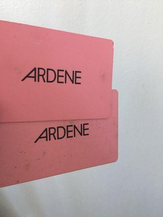 $45 Ardenes gift Cards