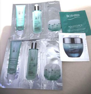 Biotherm sample kit/ travel kit