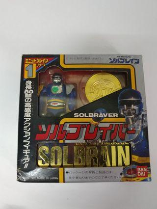 Bandai Solbrain 特救指令 3隻 Solbraver Soljeanne Knight fire