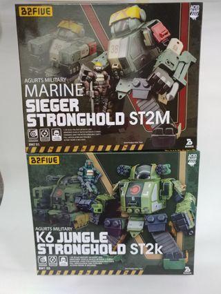 2套 Stronghold set 2.5吋 B2Five Acid Rain 酸雨戰爭