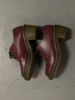 Dr Martens Maroon Boots